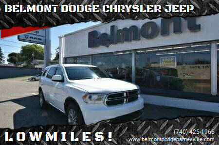 2017 Dodge Durango for sale at BELMONT DODGE CHRYSLER JEEP in Barnesville OH
