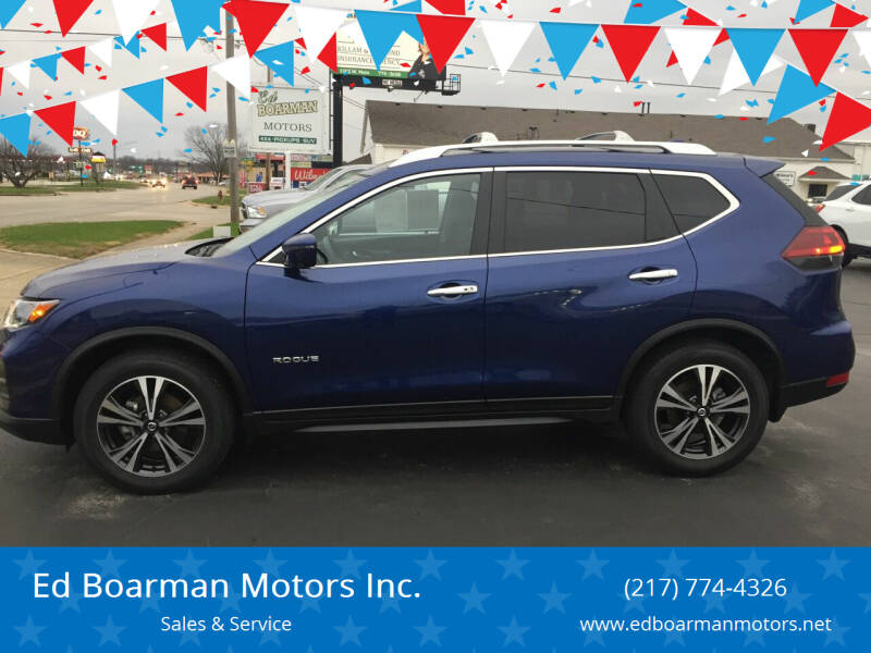 2020 Nissan Rogue for sale at Ed Boarman Motors Inc. in Shelbyville IL