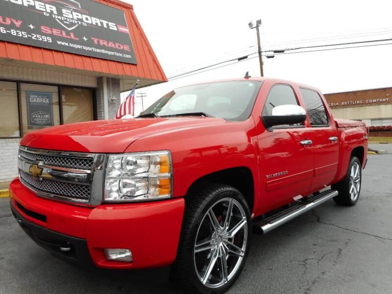 2011 Chevrolet Silverado 1500 for sale at Super Sports & Imports in Jonesville NC