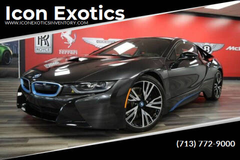2016 BMW i8 for sale at Icon Exotics in Houston TX