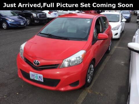 2013 Toyota Yaris for sale at Royal Moore Custom Finance in Hillsboro OR