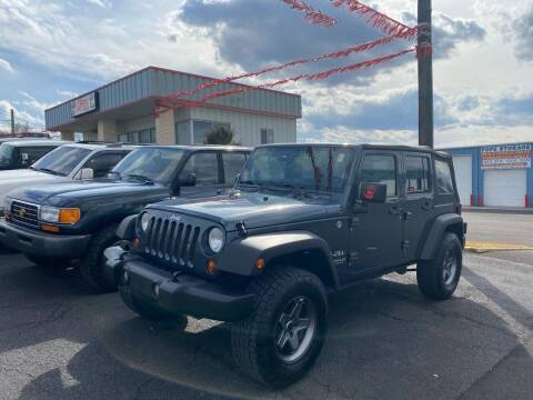 2008 Jeep Wrangler Unlimited for sale at FIESTA MOTORS in Hagerstown MD