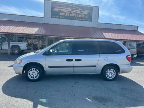 2006 Dodge Grand Caravan for sale at Ridley Auto Sales, Inc. in White Pine TN
