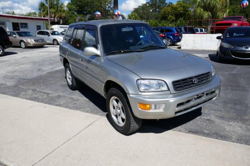 2000 Toyota RAV4 for sale at J Linn Motors in Clearwater FL