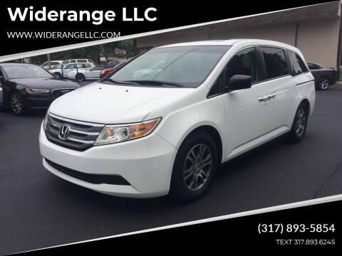 2012 Honda Odyssey for sale at Widerange LLC in Greenwood IN