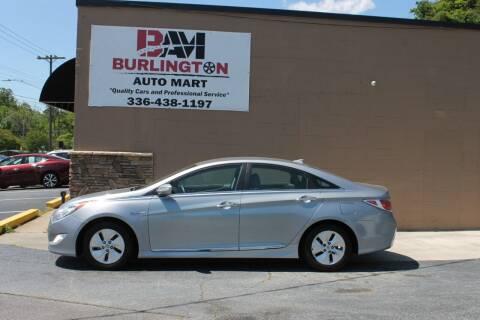 2015 Hyundai Sonata Hybrid for sale at Burlington Auto Mart in Burlington NC
