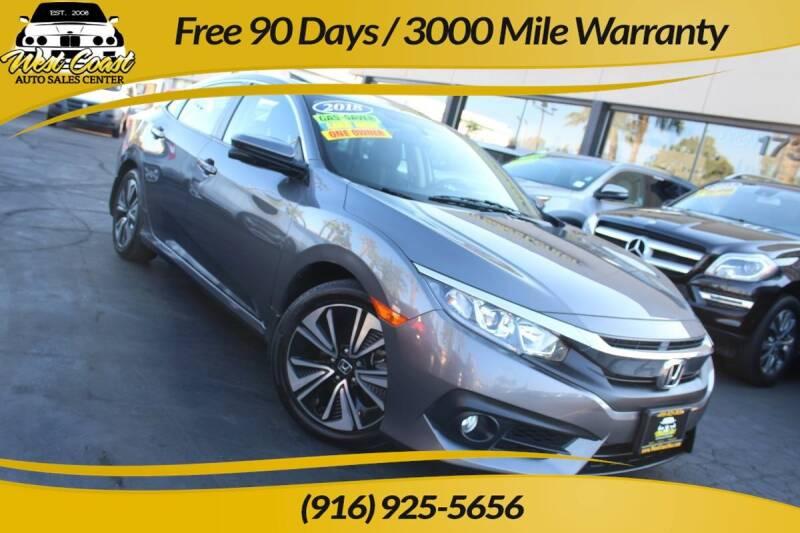 2018 Honda Civic for sale in Sacramento, CA