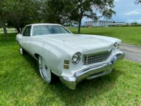 1974 Chevrolet Monte Carlo for sale at Classic Car Deals in Cadillac MI