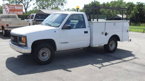 2000 GMC Sierra 2500 for sale at 277 Motors in Hawley TX