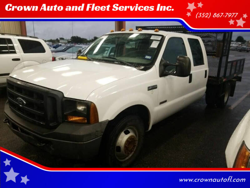 2006 Ford F-350 Super Duty for sale at Crown Auto and Fleet Services Inc. in Ocala FL