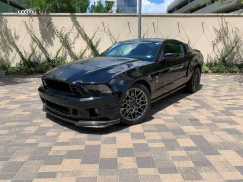 2013 Ford Shelby GT350 for sale at Classic Car Deals in Cadillac MI