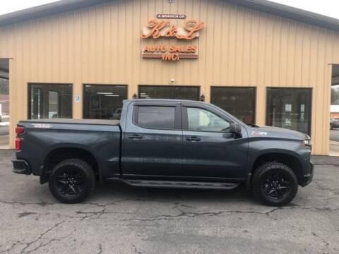 2019 Chevrolet Silverado 1500 for sale at K & L AUTO SALES, INC in Mill Hall PA