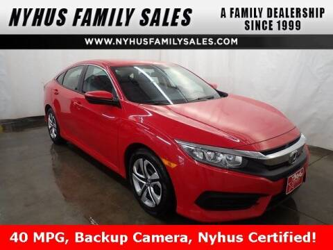 2018 Honda Civic for sale at Nyhus Family Sales in Perham MN