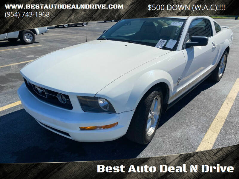 2007 Ford Mustang for sale at Best Auto Deal N Drive in Hollywood FL