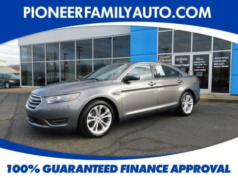 2013 Ford Taurus for sale at Pioneer Family auto in Marietta OH