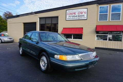 1996 Lincoln Continental for sale at I-Deal Cars LLC in York PA