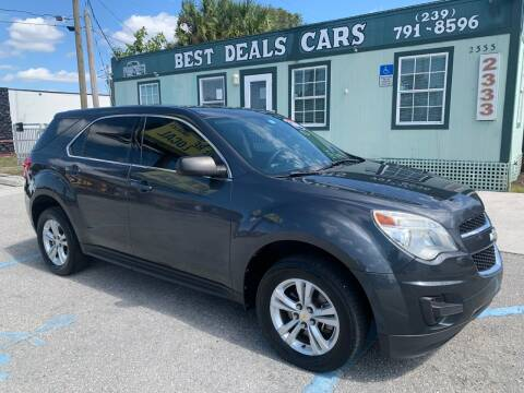 2011 Chevrolet Equinox for sale at Best Deals Cars Inc in Fort Myers FL