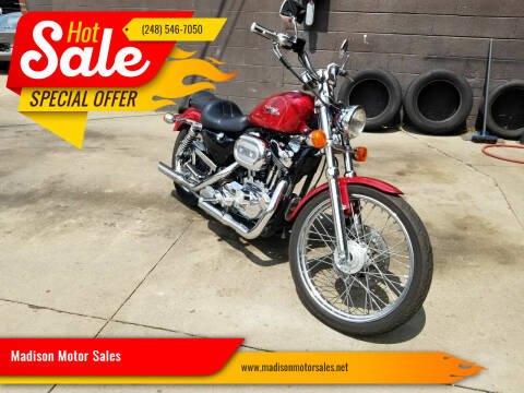 1998 Harley-Davidson XL 1200C for sale at Madison Motor Sales in Madison Heights MI