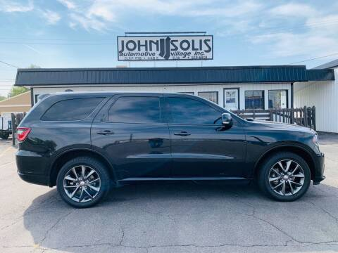 2015 Dodge Durango for sale at John Solis Automotive Village in Idaho Falls ID