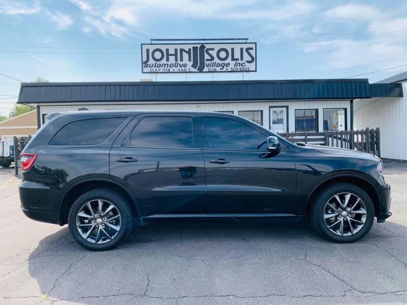 2015 Dodge Durango for sale at John Solis Automotive Village in Idaho Falls ID