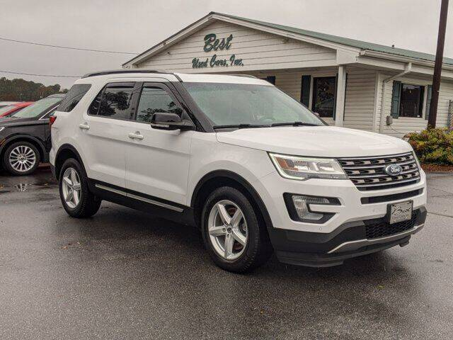 2016 Ford Explorer for sale at Best Used Cars Inc in Mount Olive NC