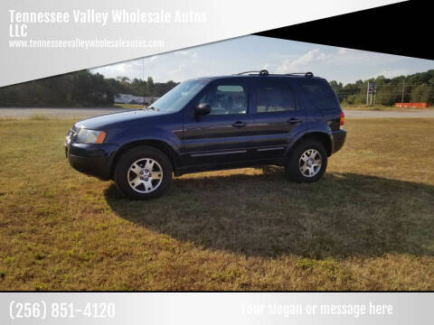 2004 Ford Escape for sale at Tennessee Valley Wholesale Autos LLC in Huntsville AL