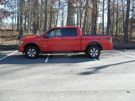 2013 Ford F-150 4x4 FX4 4dr SuperCrew Styleside 5.5 ft. SB - High Point NC