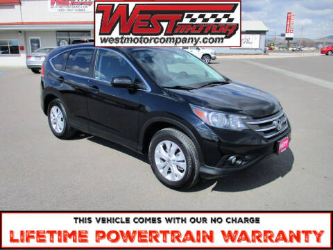 2014 Honda CR-V for sale at West Motor Company in Preston ID