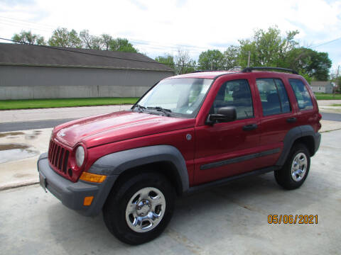 2007 Jeep Liberty for sale at Burt's Discount Autos in Pacific MO