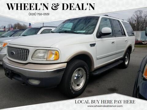 1999 Ford Expedition for sale at Wheel'n & Deal'n in Lenoir NC