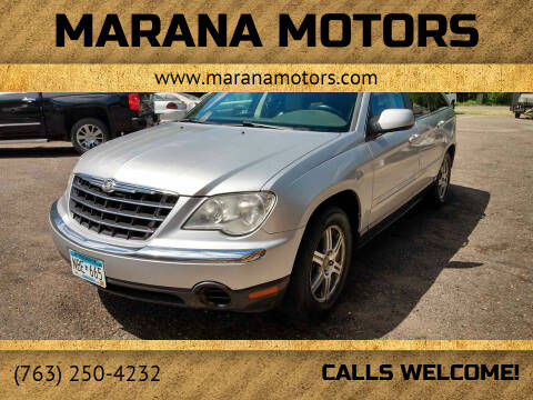 2007 Chrysler Pacifica for sale at Marana Motors in Princeton MN