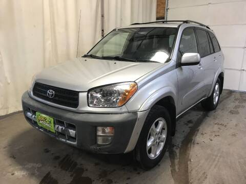 2002 Toyota RAV4 for sale at Frogs Auto Sales in Clinton IA