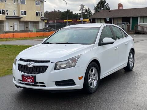 2014 Chevrolet Cruze for sale at Apex Motors Parkland in Tacoma WA