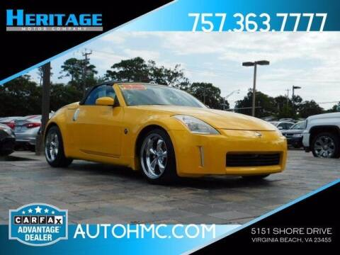 2005 Nissan 350Z for sale at Heritage Motor Company in Virginia Beach VA