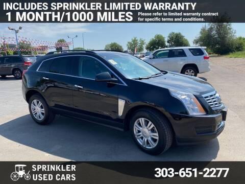 2016 Cadillac SRX for sale at Sprinkler Used Cars in Longmont CO