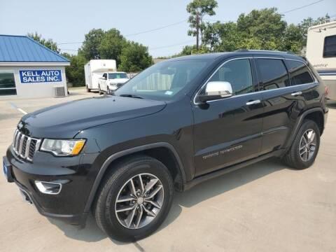2018 Jeep Grand Cherokee for sale at Kell Auto Sales, Inc - Grace Street in Wichita Falls TX
