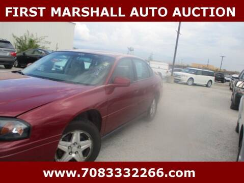 2005 Chevrolet Impala for sale at First Marshall Auto Auction in Harvey IL