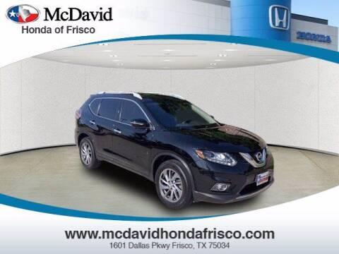 2015 Nissan Rogue for sale at DAVID McDAVID HONDA OF IRVING in Irving TX