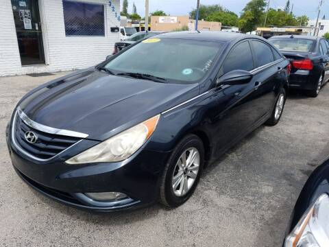 2013 Hyundai Sonata for sale at P S AUTO ENTERPRISES INC in Miramar FL