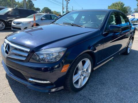 2011 Mercedes-Benz C-Class for sale at Capital Motors in Raleigh NC