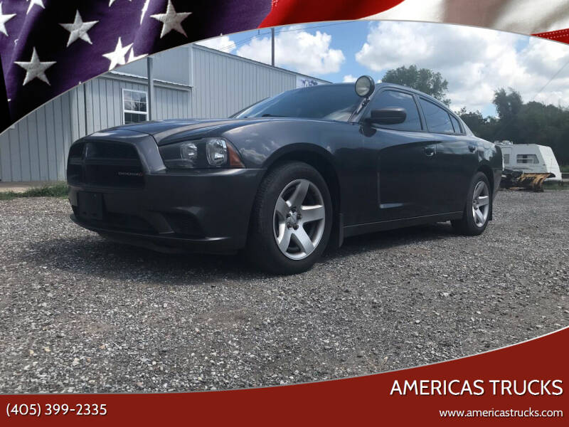 2013 Dodge Charger for sale at Americas Trucks in Jones OK