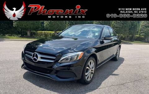 2015 Mercedes-Benz C-Class for sale at Phoenix Motors Inc in Raleigh NC