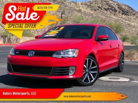2014 Volkswagen Jetta for sale at Baba's Motorsports, LLC in Phoenix AZ