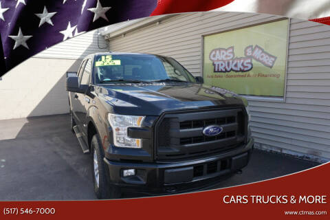 2015 Ford F-150 for sale at Cars Trucks & More in Howell MI