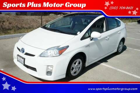 2010 Toyota Prius for sale at Sports Plus Motor Group LLC in Sunnyvale CA