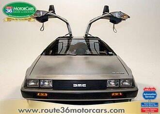1983 DeLorean DMC-12 for sale at ROUTE 36 MOTORCARS in Dublin OH