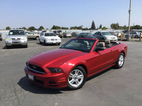 2013 Ford Mustang for sale at My Three Sons Auto Sales in Sacramento CA