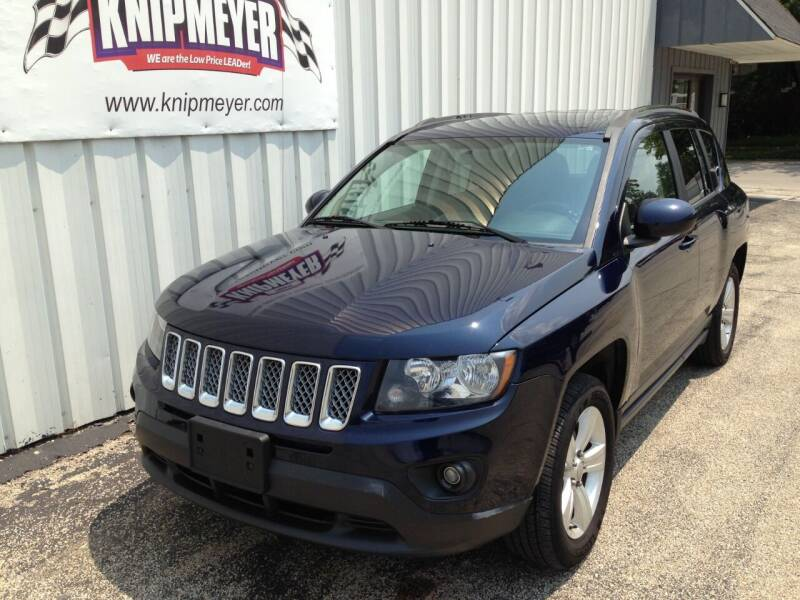 2014 Jeep Compass for sale at Team Knipmeyer in Beardstown IL