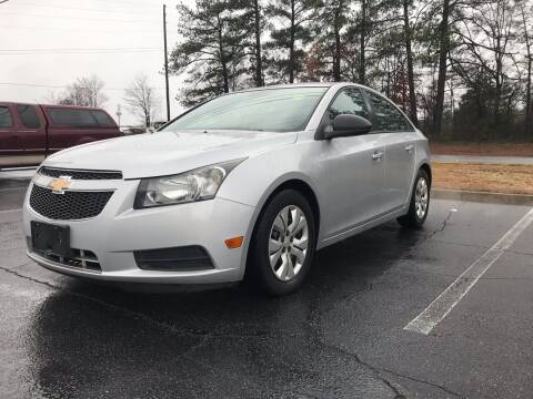 2014 Chevrolet Cruze for sale at ATLANTA AUTO WAY in Duluth GA