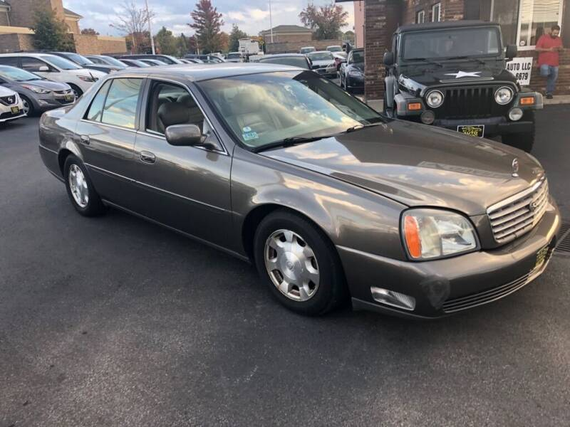 2002 Cadillac DeVille for sale at ENZO AUTO in Parma OH